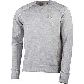 Lundhags Ullto Merino LS Crew Top Men, light grey